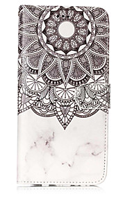 For Case Cover Card Holder Wallet with Stand Flip Pattern Full Body Case Mandala Hard PU Leather for Samsung Galaxy S8 Plus S8 S7 edge S7