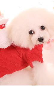 Koira Haalarit Koiran vaatteet Rento/arki Tukeva Punainen Sininen Pinkki