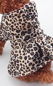 Hundekleidung One Piece warm halten Weihnachten Leopard Leopard Kostüm Für Haustiere