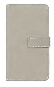 Custodia Per Huawei P8 Lite (2017) P10 Lite Porta-carte di credito Con supporto Con chiusura magnetica Integrale Tinta unica Resistente
