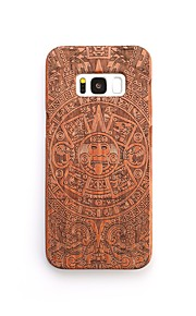 For Case Cover Shockproof Pattern Back Cover Case Halloween Hard Wooden for Samsung Galaxy S8 Plus S8 S7 edge S7 S6 edge plus S6 edge S6