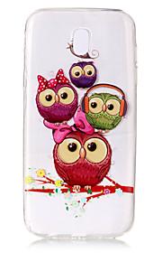 Kılıf Na Samsung Galaxy J7 (2017) J5 (2017) Przezroczyste Wzór Etui na tył Sowa Miękkie TPU na J7 (2017) J7 (2016) J5 (2017) J5 (2016) J3