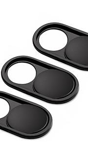 webcam cover slider by cloudvalley 3 pack capa de câmera web de metal ultra-fina de 0,026 polegadas para macbook pro laptop mac pc
