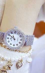 Women's Casual Watch Fashion Watch Dress Watch Pave Watch Chinese Quartz Chronograph 304 Stainless Steel Band Luxury Casual Elegant