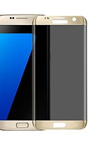 Proteggi Schermo per Samsung Galaxy S7 edge Vetro temperato 1 pezzo Proteggi-schermo integrale Anti-spia Estremità angolare a 3D A prova