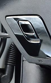 Automotivo Coberturas de pilha central Gadgets de Interior Personalizáveis para Carros Para Jeep Todos os Anos Cherokee Aço inox