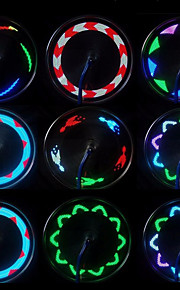 자전거 라이트 바퀴 등 LED - 싸이클링 방수 색상-변화 LED 라이트 작은 사이즈 휴대성 무선 AAA 20 루멘 배터리 사이클링