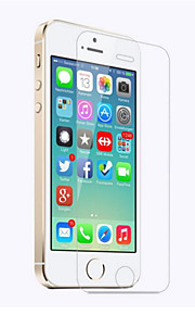 Screen Protector for Apple iPhone SE/5s iPhone 5 iPhone 5c Tempered Glass 1 pc Front Screen Protector High Definition (HD) 9H Hardness