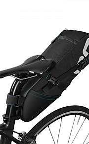 Sac de Vélo Sacs de Porte-Bagage Etanche Zip étanche Fitness Sac de Cyclisme Polyester/Coton Nylon Tissu étanche Sacoche de Vélo Cyclisme