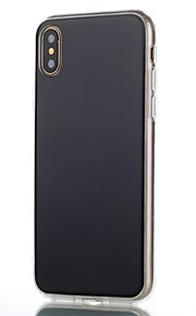 Custodia Per Apple iPhone X iPhone 8 Ultra sottile Custodia posteriore Tinta unica Resistente PC per iPhone X iPhone 8 Plus iPhone 8