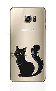 Кейс для Назначение SSamsung Galaxy S8 Plus S8 С узором Задняя крышка Кот Мягкий TPU для S8 S8 Plus S7 edge S7 S6 edge plus S6 edge S6