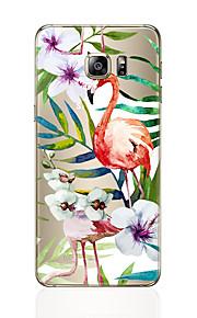 Кейс для Назначение SSamsung Galaxy S8 Plus S8 С узором Задняя крышка Фламинго Мягкий TPU для S8 S8 Plus S7 edge S7 S6 edge plus S6 edge