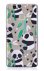 Case For Huawei P9 Lite P10 Transparent Back Cover Panda Soft TPU for Huawei P10 Plus Huawei P10 Lite Huawei P10 Huawei P9 Huawei P9 Lite