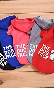 gato cão suéter roupas para cães casual / diariamente manter aconchegante lazer casual / desportivo warm ups adorável halloween natal