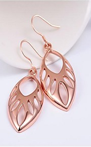 Women's Drop Earrings Hoop Earrings Simple Classic Vintage Casual Fashion Alloy Leaf Jewelry For Daily Work