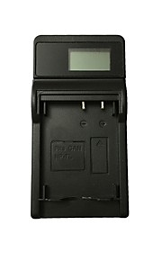 Ismartdigi 7l lcd usb camera battery charger for canon 7l nb-7l battery - black