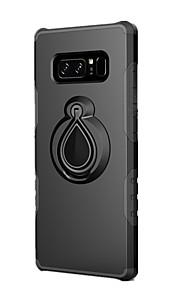 ケース 用途 Samsung Galaxy Note 8 耐衝撃 バンカーリング バックカバー 純色 ハード PC のために Note 8