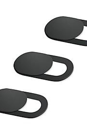 cobertura da webcam de 0,03 polegadas ultra fina (3 unidades) capa de câmera web irush para laptop pc pc macboook pro imac mac mini e