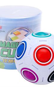 Rubiks terning Magiske regnbuekugler Let Glidende Speedcube Magiske terninger Magiske regnbuebolde Puslespil Terning Uddannelse Fodbold