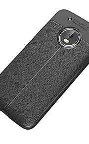 Etui Til Motorola G5 Plus G5 Stødsikker Syrematteret Bagcover Helfarve Blødt TPU for Moto G5 Plus Moto G5 Moto E4 Plus Moto Z2 play Moto