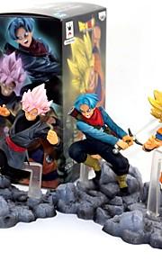 anime figurki inspirowane smokiem goku pvc 10 cm model zabawki lalka zabawka