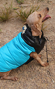 Kot Pies Płaszcze Bluzy z kapturem Płaszcz przeciwdeszczowy Kombinezon Ubrania dla psów Codzienne Wodoszczelność Zatrzymujący ciepło