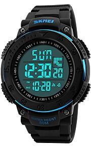 Homens Crianças Relógio Casual Relógio Esportivo Relógio de Moda Chinês Digital Calendário Impermeável Dois Fusos Horários Cronômetro