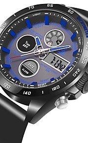 Homens Mulheres Relógio Casual Japanês Quartzo Relógio Casual PU Banda Casual Preta