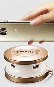 Trådlös laddare Telefon USB-laddare USB Trådlös laddare Qi 1 USB-port 2A AC 220V iPhone X iPhone 8 Plus iPhone 8 S8 Plus S8 S7 Active S7