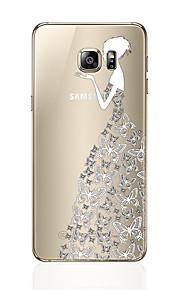 Кейс для Назначение SSamsung Galaxy S8 Plus S8 С узором Задняя крышка Соблазнительная девушка Мягкий TPU для S8 S8 Plus S7 edge S7 S6