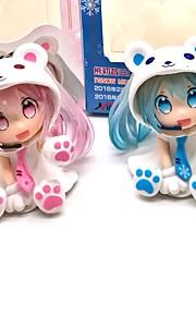 Rysunki Anime akcji Zainspirowany przez Vocaloid Snow Miku 7 CM Klocki Lalka Zabawka