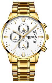 Homens Relógio Casual Relógio de Moda Relógio Elegante Japanês Quartzo Calendário Cronógrafo Impermeável Luminoso Cronômetro Noctilucente