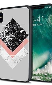 Custodia Per Apple iPhone X iPhone 8 Plus Fantasia/disegno Custodia posteriore Effetto marmo Morbido TPU per iPhone X iPhone 8 Plus