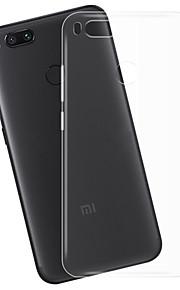 hoesje Voor Xiaomi Mi 5X Transparant Achterkantje Transparant Zacht TPU voor Xiaomi Mi 5X Xiaomi A1