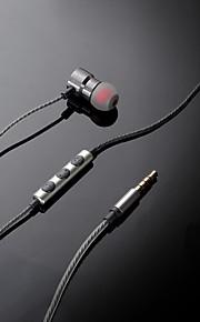 xo s9 écouteurs de musique pour l'oreille d'animal familier anti-enroulement métallique métallique d'aspiration magnétique