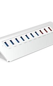 ORICO 10 Hub USB USB 3.0 USB 3.0 Alta Velocidad Protección de Entrada Protección contra Sobrecarga Hub de datos