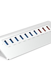ORICO 10 USB Hub USB 3.0 USB 3.0 High Speed Input Protection Over Range Protection Data Hub