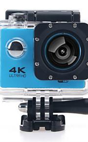 SJ7000/H9K كاميرا ستاي / كاميرا النشاط 12 mp GoPro نشاطات خارجية 2592 x 1944 بكسل / 3264 x 2448 بكسل / 2048 x 1536 بكسل ضد الماء / Wifi / 4K 60FPS / 30fps / 24fps لا +1 / -1 / +2 2 بوصة CMOS 32 GB