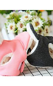 犬 ハット、ケープ、バンダナ 犬用ウェア カジュアル/普段着 ソリッド ブラック ピンク コスチューム ペット用