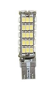 Sencart T10 68x3020SMD Super Bright Cold White 12V For Car Boot Trunk Map Light Number Plate License Light
