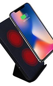 شاحن لاسلكي الهاتف شاحن أوسب USB شاحن لاسلكي Qi مخرجUSB 1 2A iPhone X iPhone 8 Plus iPhone 8 S8 Plus S8 S7 Active S7 edge S7 S6 edge plus