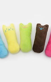 Kissanminttu Plush-lelu Cute Kangas Käyttötarkoitus Kissa Kissan lelu