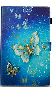 Case For Amazon Wallet with Stand Flip Pattern Auto Sleep/Wake Up Full Body Butterfly Hard PU Leather for Kindle Fire hd 10(7th