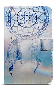 Case For Amazon Card Holder Wallet with Stand Pattern Auto Sleep/Wake Up Full Body Dream Catcher Hard PU Leather for Kindle Fire 7(5th