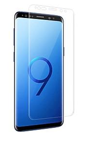 Proteggi Schermo Samsung Galaxy per S9 Plus S9 PET 1 pezzo Proteggi-schermo frontale Estremità angolare a 3D Anti-impronte Anti-graffi