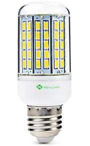 SENCART 1pc 8W 1500 lm E14 GU10 E26/E27 B22 LED-kornpærer T 96 leds SMD 5630 Dekorativ Varm hvit Kjølig hvit 200-240V 110-120V