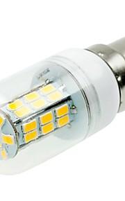 SENCART 1pc 5W 800-1200 lm E14 G9 E26/E27 B22 LED-kornpærer T 42 leds SMD 5730 Dekorativ Varm hvit Kjølig hvit 12V 220V-240V