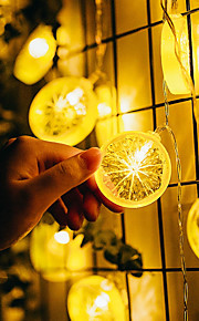 10 LEDs 1.5M String Light Warm White Decorative AA Batteries Powered