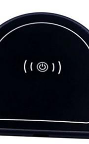 شاحن لاسلكي شاحن يو اس بي عالمي شاحن لاسلكي / Qi * 1 2 A DC 9V إلى iPhone 8 Plus / iPhone 8 / S8 Plus