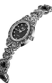 ASJ Mulheres Relógio de Moda Relógio Casual Japanês Quartzo Impermeável Relógio Casual Lega Banda Fashion Preta